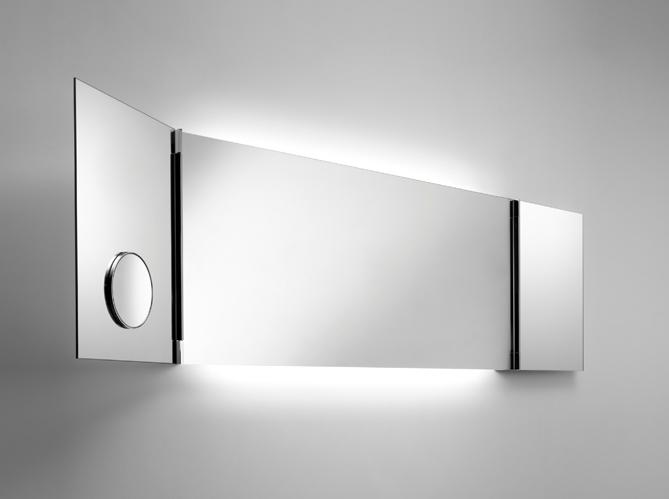 Miroir salle de bain elle d coration for Miroir loupe pour salle de bain
