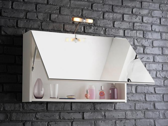 Petit meuble salle de bains notre s lection elle d coration - Meuble de salle de bain avec miroir integre ...