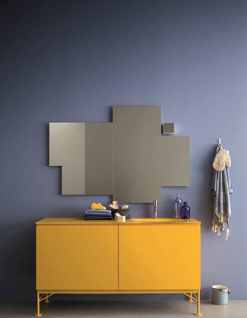 Miroir baroque pour salle de bain miroir baroque argent for Miroir loupe pour salle de bain