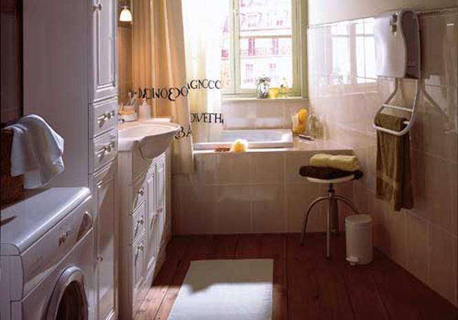 Shopping solutions fut es pour petites salles de bains - Baignoire sabot castorama ...