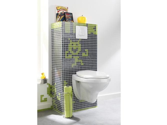 Wc am nager et d corer les toilettes elle d coration - Enlever le calcaire des toilettes ...