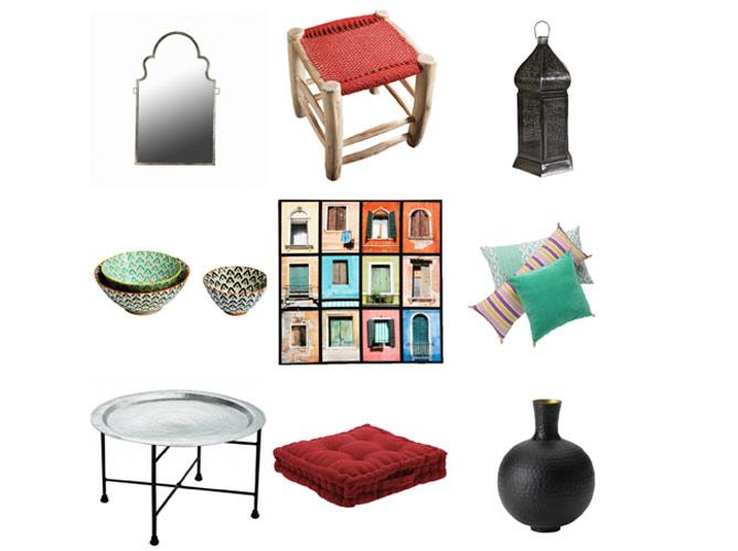la d co orientale s 39 invite au salon elle d coration. Black Bedroom Furniture Sets. Home Design Ideas