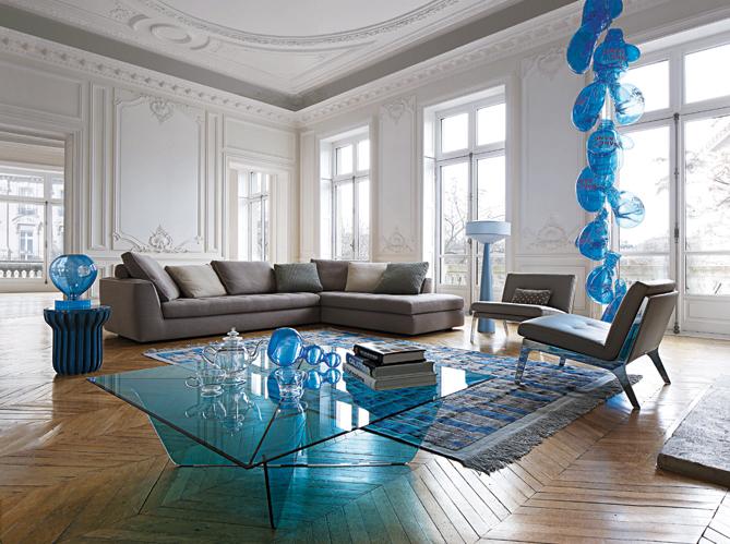 Id e d co des touches de couleur dans votre salon elle - Objets decoration salon ...