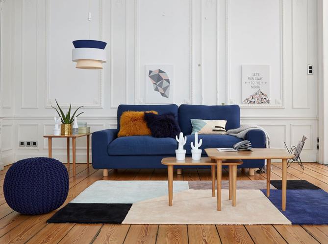 50 id es d co pour le salon elle d coration. Black Bedroom Furniture Sets. Home Design Ideas