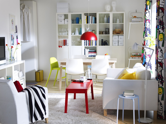 deco ikea salon. Black Bedroom Furniture Sets. Home Design Ideas