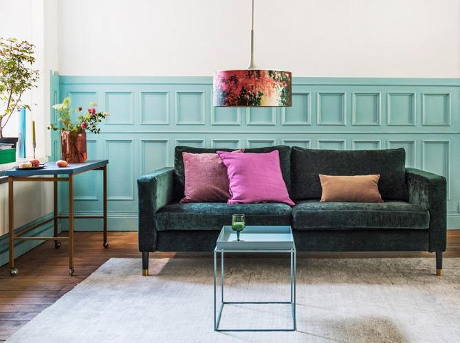 l 39 actu du jour bemz d voile sa nouvelle gamme de tissus 100 velours elle d coration. Black Bedroom Furniture Sets. Home Design Ideas