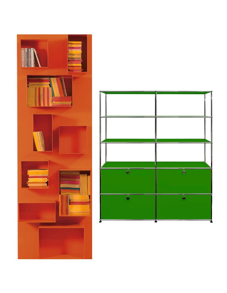 15 biblioth ques pour tout ranger elle d coration - Meuble bibliotheque pour bd ...