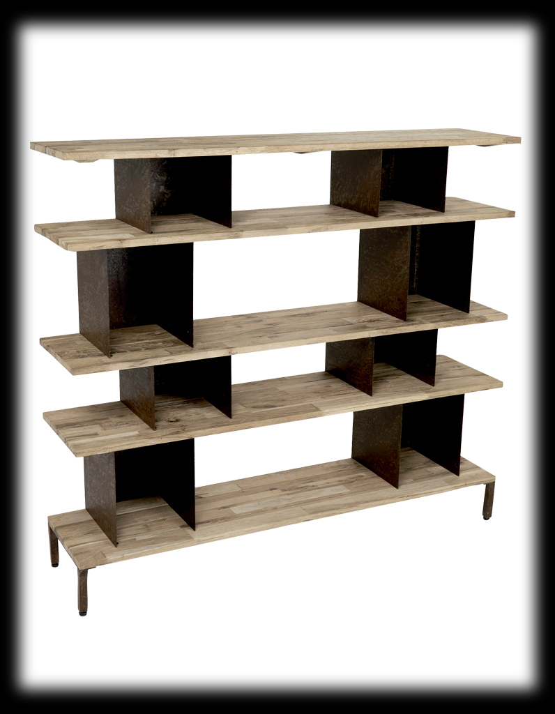 etagere bois woodstock. Black Bedroom Furniture Sets. Home Design Ideas
