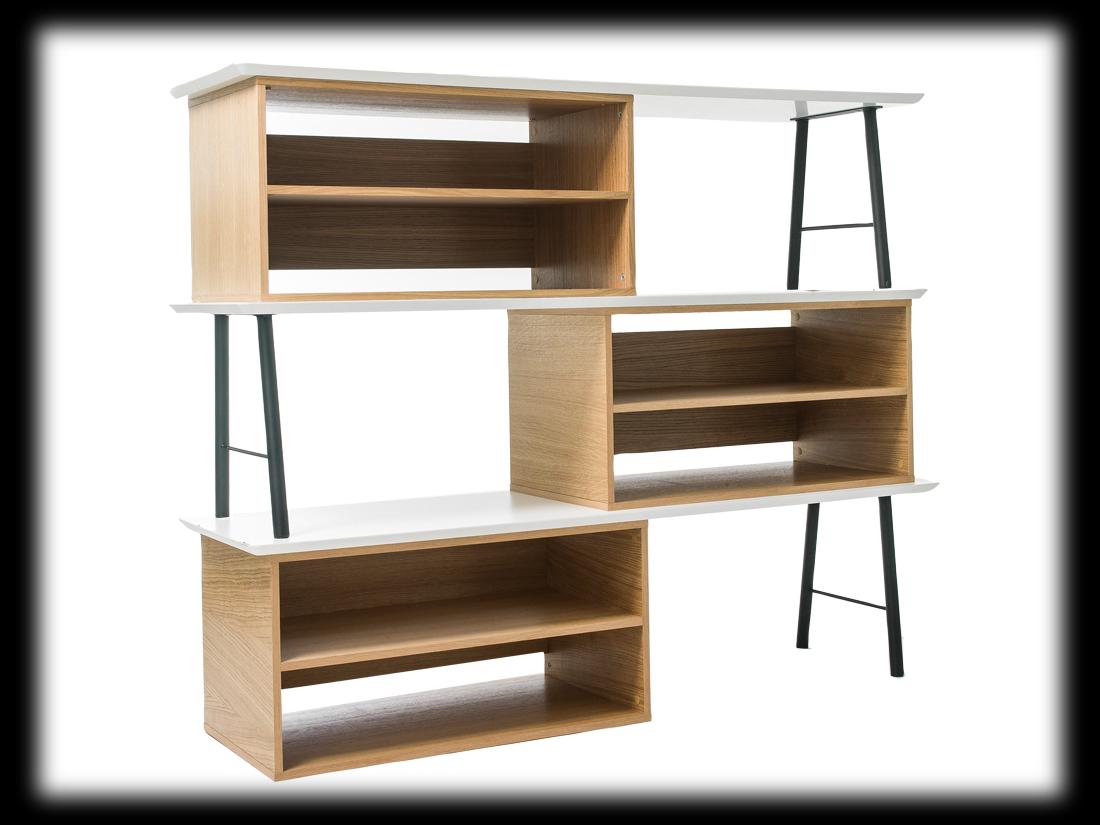Biblioth ques 14 id es pour cloisonner l espace elle d coration - La redoute bibliotheque ...