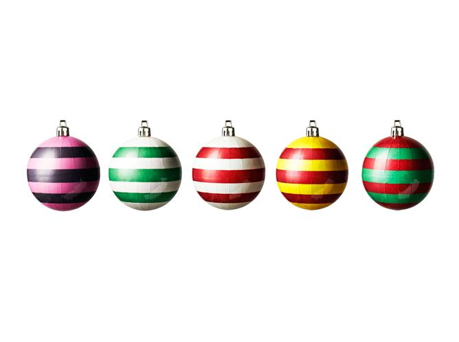 40 boules de no l color es elle d coration - Boule a the ikea ...