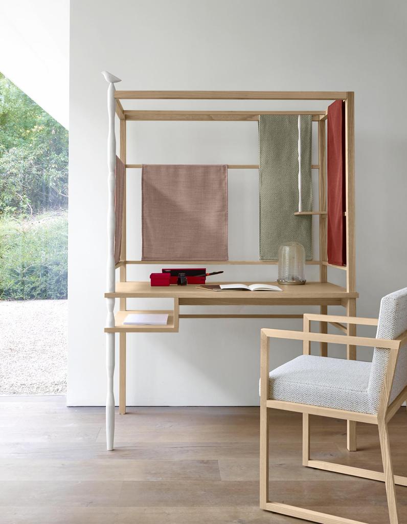 Un bureau design pour un espace de travail styl elle for Meuble minimaliste