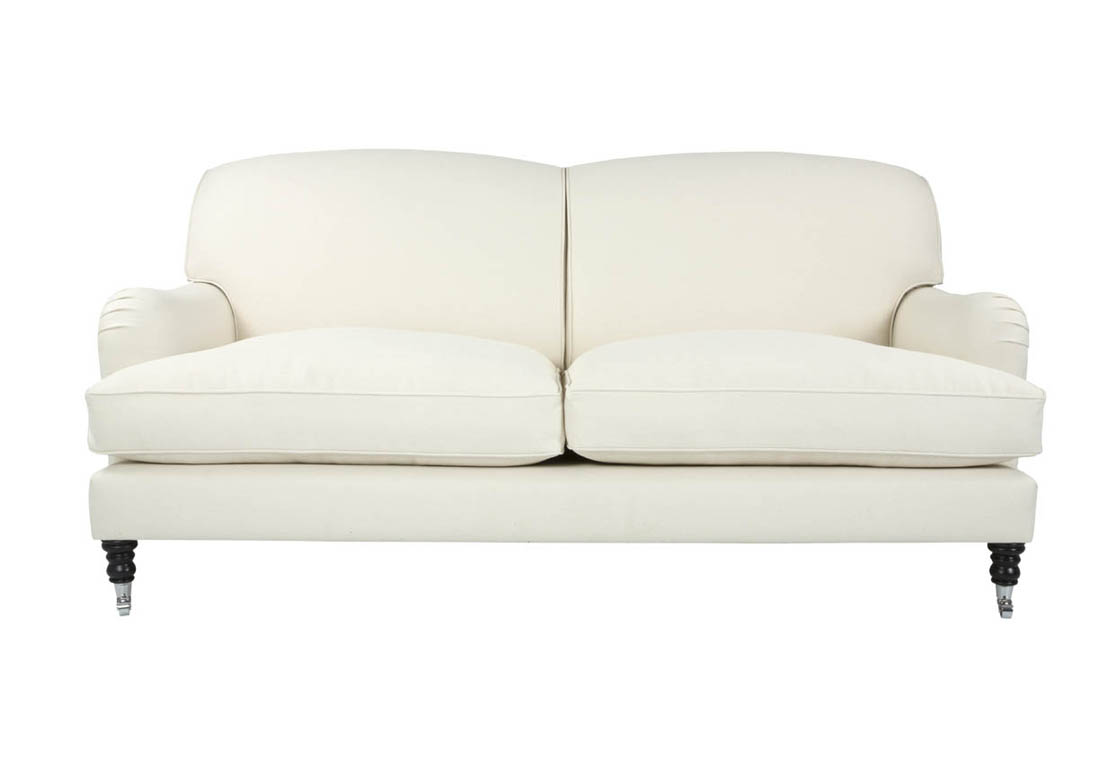 Exceptional canape tissu style anglais 10 v ritable for Canape cuir anglais chesterfield