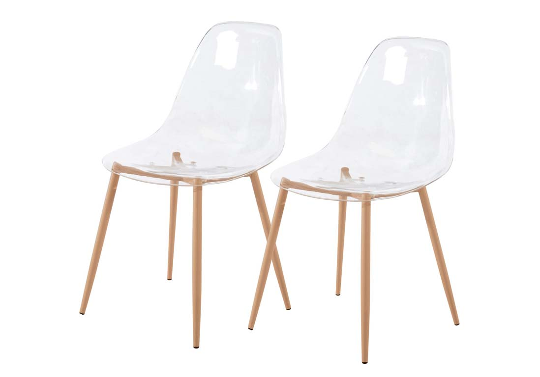 Chaises modernes pas cher awesome chaise de cuisine for Chaises blanches modernes