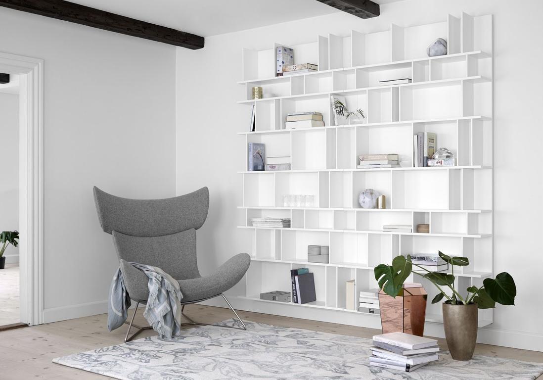 Biblioth ques belles et pratiques notre s lection pour for Meuble de decoration pour salon