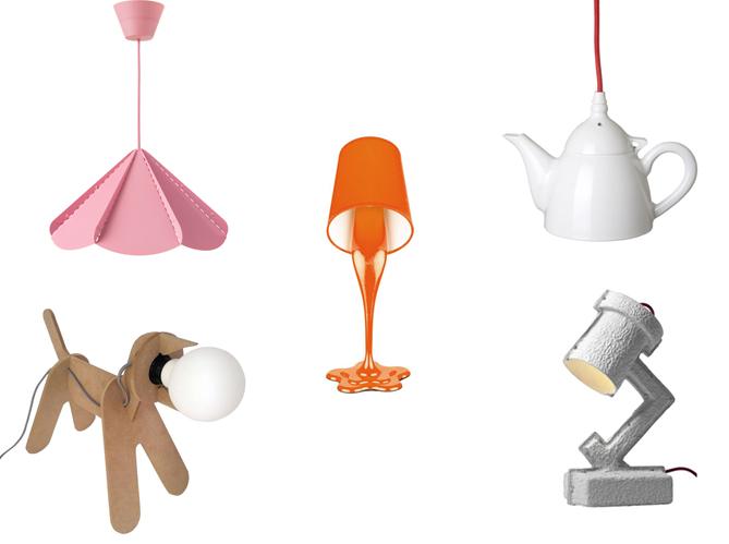 15 lampes design pas ch res elle d coration for Deco objet salon