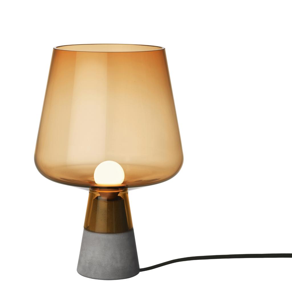 lampe a poser en verre souffle