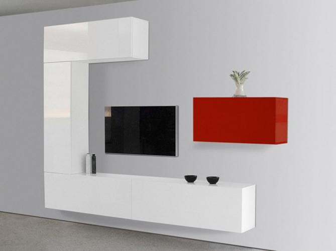 Le meuble tv fait sa star elle d coration for Meuble mural a composer