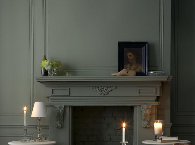 Peinture salon plus de 20 couleurs canons pour le repeindre elle d coration - Comment enlever le vert de gris ...