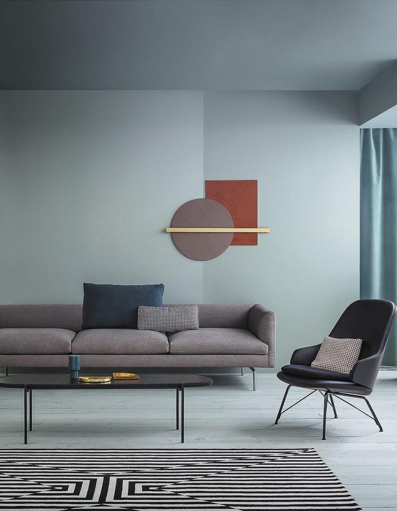 un salon gris pour une d co chic et intemporelle elle d coration. Black Bedroom Furniture Sets. Home Design Ideas