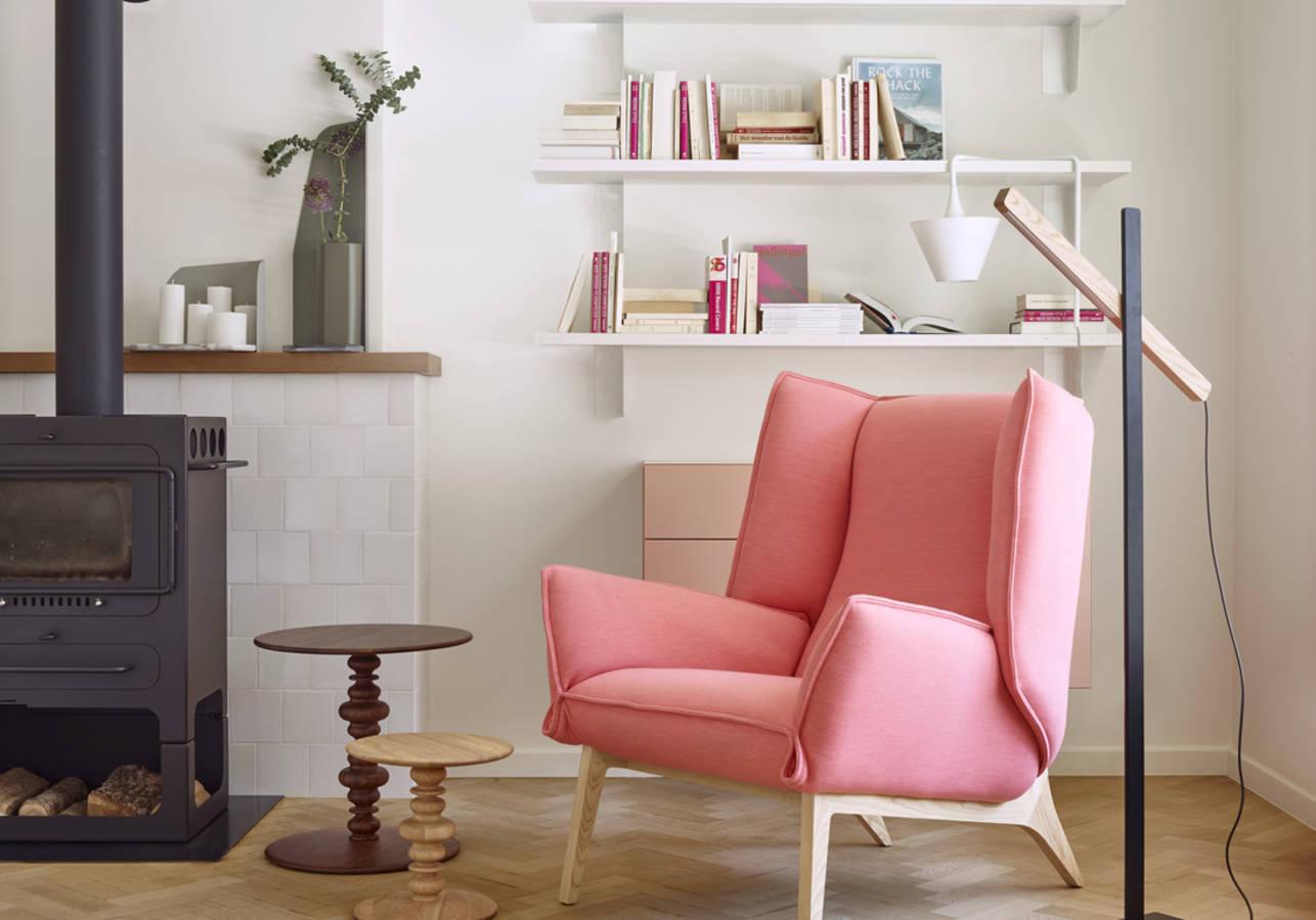 Le fauteuil avec dossier haut l excuse parfaite pour - Salon de sejour en bois ...