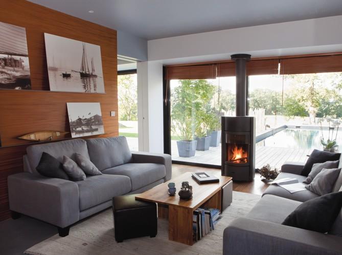 Un salon cosy elle d coration for Exemple de decoration salon