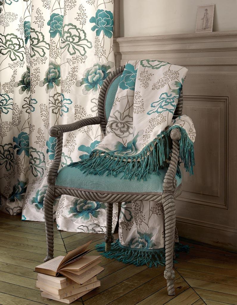 50 tissus d ameublement qui nous inspirent elle d coration. Black Bedroom Furniture Sets. Home Design Ideas