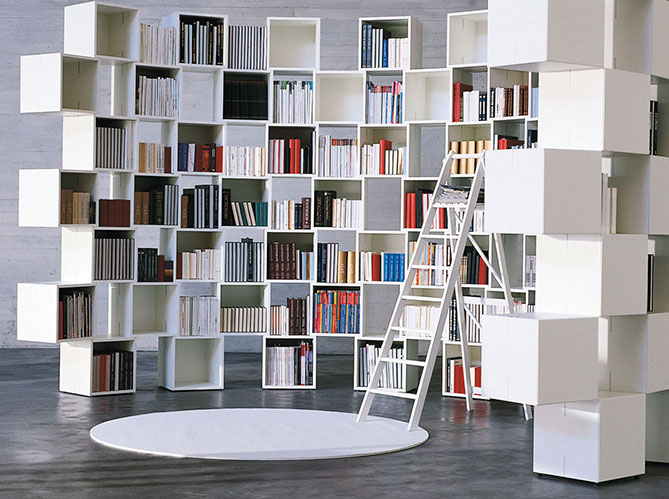 Cloisonner n 39 est pas fermer elle d coration for Cloison amovible bibliotheque