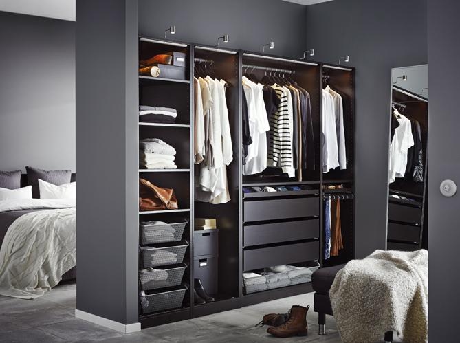 dressing pas cher nos solutions elle d coration. Black Bedroom Furniture Sets. Home Design Ideas