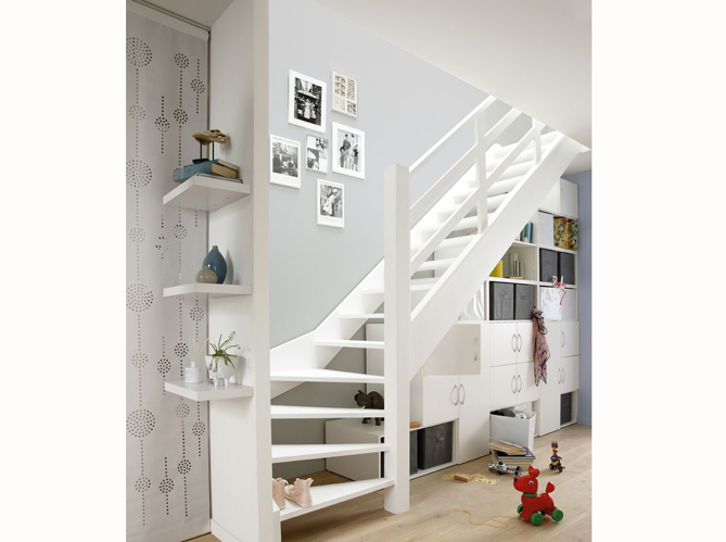 meuble sous escalier ikea id e inspirante. Black Bedroom Furniture Sets. Home Design Ideas