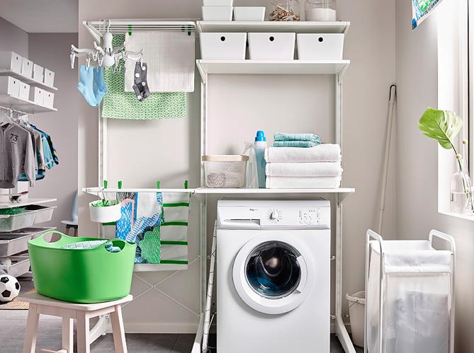 14 buanderies aussi pratiques que jolies elle d coration. Black Bedroom Furniture Sets. Home Design Ideas