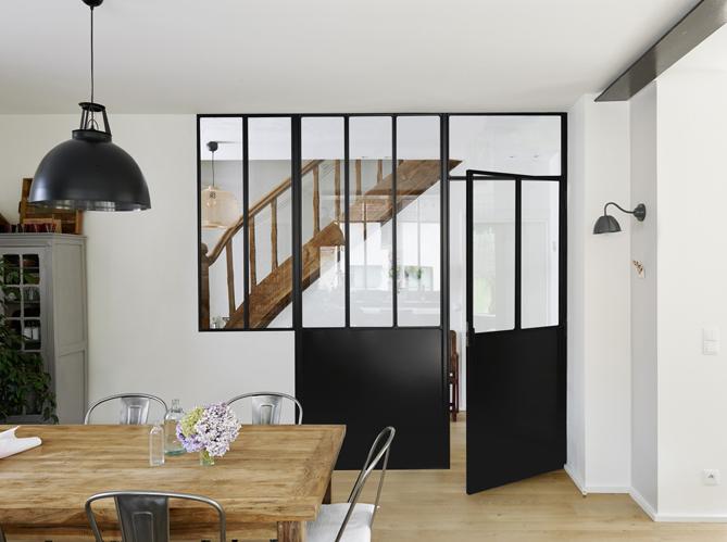 la verri re une bonne id e dans toute la maison elle d coration. Black Bedroom Furniture Sets. Home Design Ideas