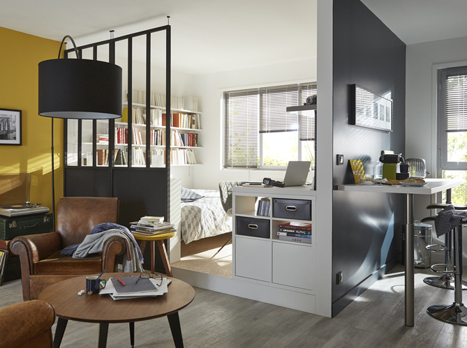 la verri re une bonne id e dans toute la maison elle d coration. Black Bedroom Furniture Sets. Home Design Ideas