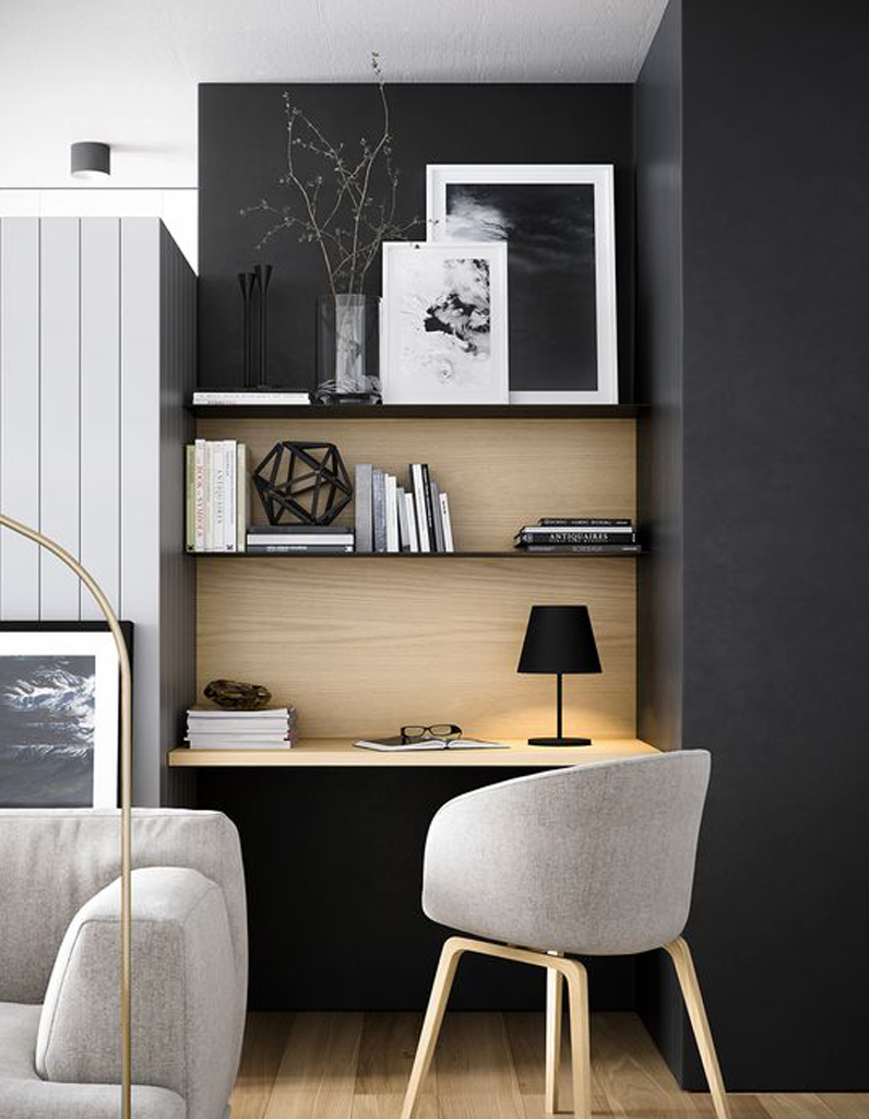 nos id es pour sublimer son bureau elle d coration. Black Bedroom Furniture Sets. Home Design Ideas