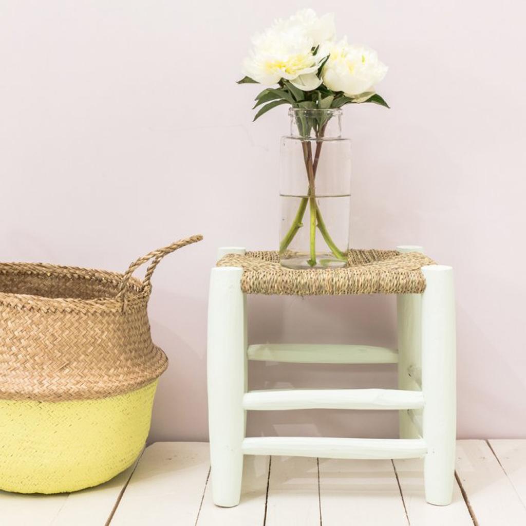 tabouret pour plante verte. Black Bedroom Furniture Sets. Home Design Ideas