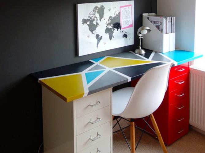 Ikea hackers le concept que vous allez adorer elle - Tiroir suspendu sous plan de travail ...