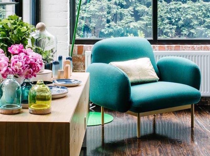 le on de d co faut il oser le turquoise dans son int rieur elle d coration. Black Bedroom Furniture Sets. Home Design Ideas