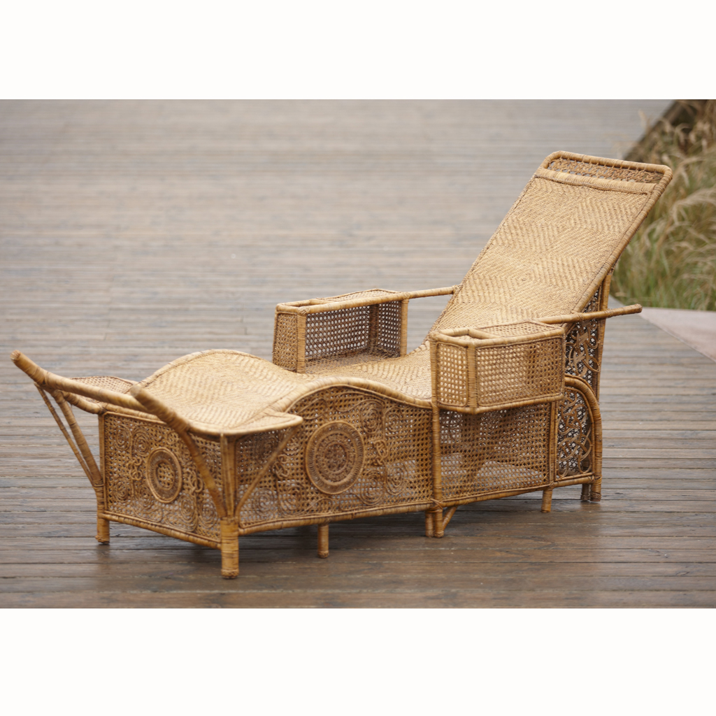 canape en osier ou rotin fashion designs. Black Bedroom Furniture Sets. Home Design Ideas