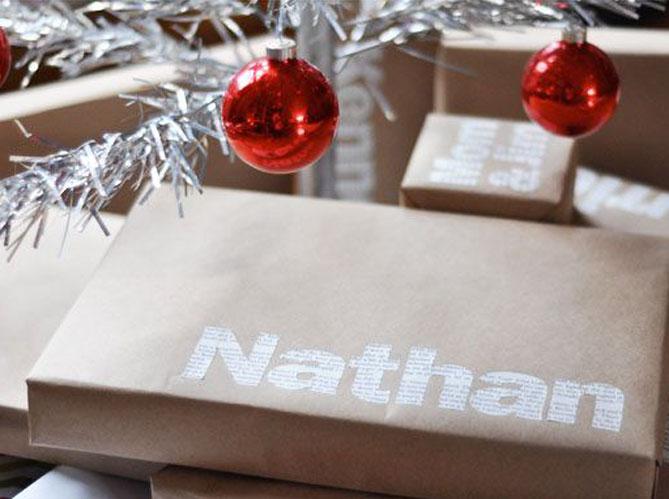 Cadeaux de no l 13 fa ons de les emballer elle - Paquet jardin deco noel nancy ...