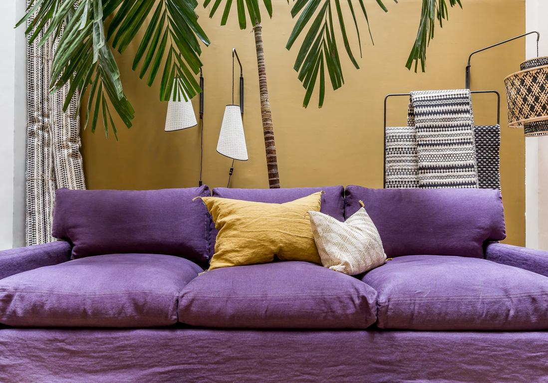 le jaune moutarde associ au violet - Les Couleurs Qui Vont Avec Le Violet