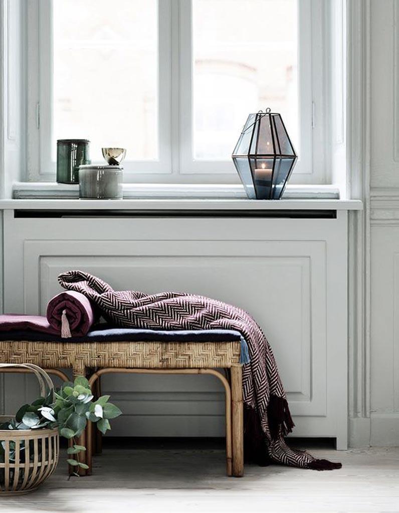 quel rideau pour fenetre avec radiateur lot de supports de fixation sans perage inspire