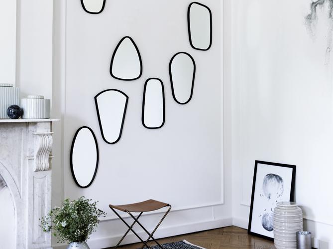 Relookez vos pi ces avec trois fois rien elle d coration - Mur en miroir ...