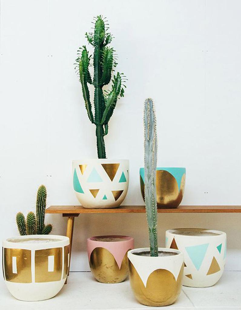 Les meilleures id es de cadeaux faire soi m me pour la f te des m res elle d coration - Cactus de interior ...