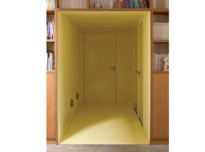 un int rieur original gr ce la couleur elle d coration. Black Bedroom Furniture Sets. Home Design Ideas