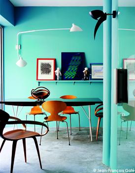 elle deco couleur mur appartement architecte d 39 int rieur elle d coration. Black Bedroom Furniture Sets. Home Design Ideas