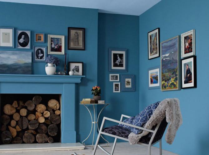 Peinture les couleurs s 39 affichent sur nos murs elle for Idee deco couleur mur
