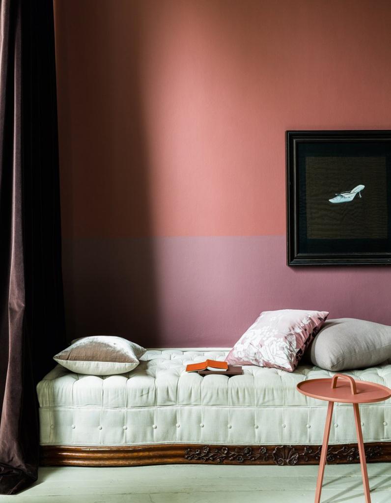 Decoration Peinture Murale Bicolore : Peinture murale inspirations pour un intérieur trendy