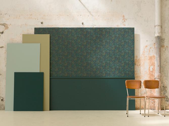 l 39 actu du jour ressource signe sa premi re collection de papiers peints elle d coration. Black Bedroom Furniture Sets. Home Design Ideas