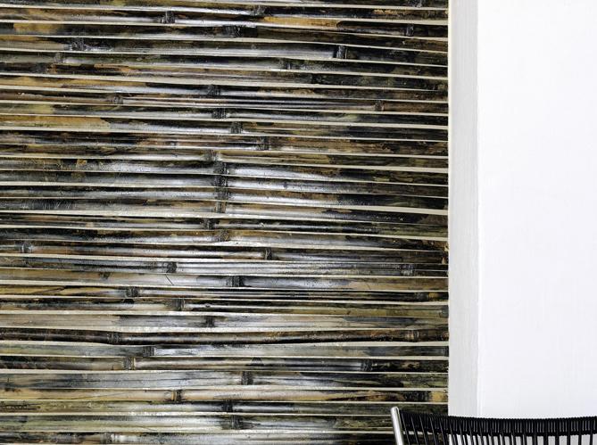 De la texture et du relief au mur elle d coration for Revetement mural bambou