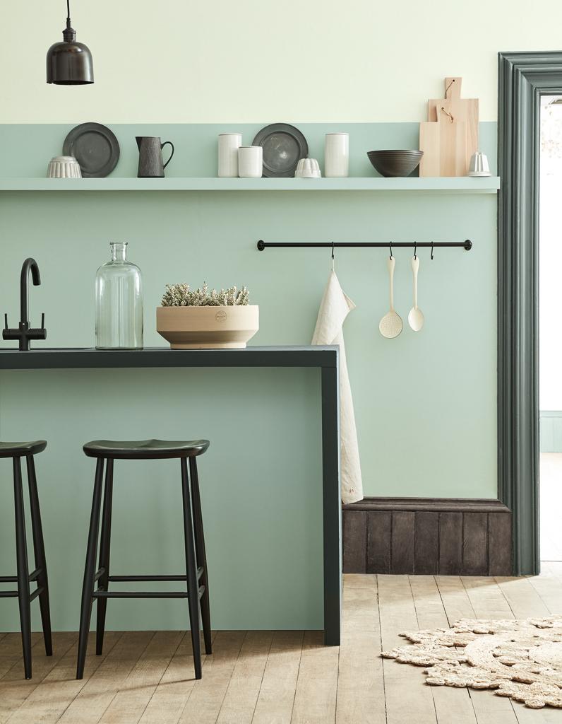 elled cocrush vous ne r sisterez pas aux nouvelles couleurs little greene elle d coration. Black Bedroom Furniture Sets. Home Design Ideas