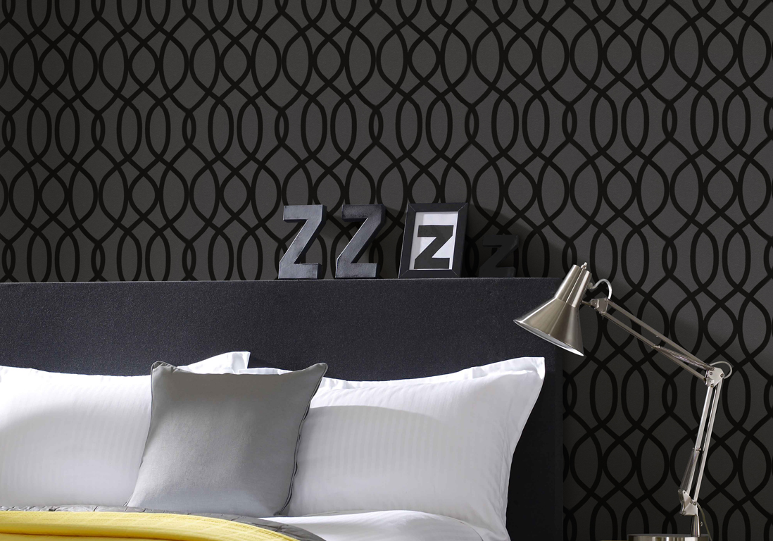 superbes papiers peints pour la chambre elle dcoration with papier peint tendance chambre. Black Bedroom Furniture Sets. Home Design Ideas